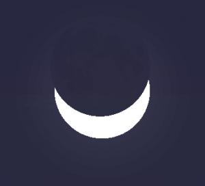 Image du milieu de l'éclipse