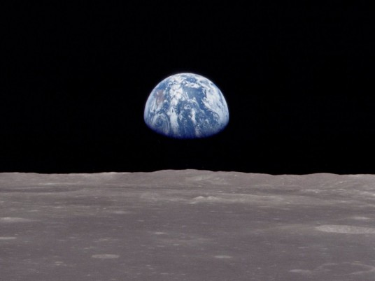 Lever de Tere. Photo Apollo 8, W. Anders