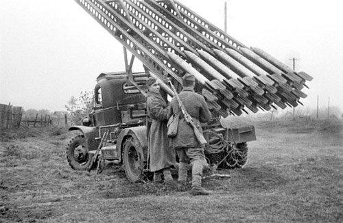 Lance roquette Katioucha