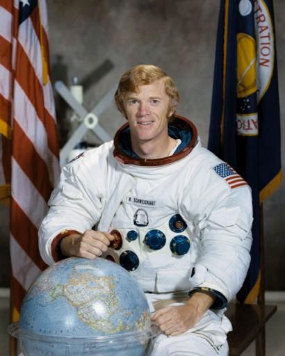 Rusty Schweickart astronaute d'Apollo 9 qui a des origines alsaciennes