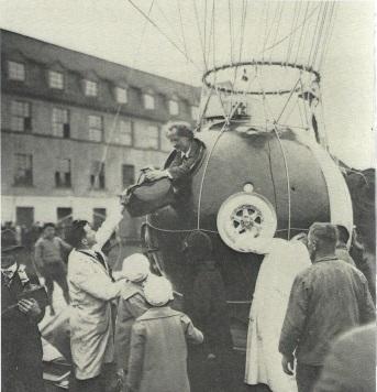 Premier vol stratosphérique d'Auguste Piccard le 27 mai 1931