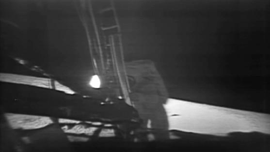 Le premier pas d'Armstrong sur la Lune