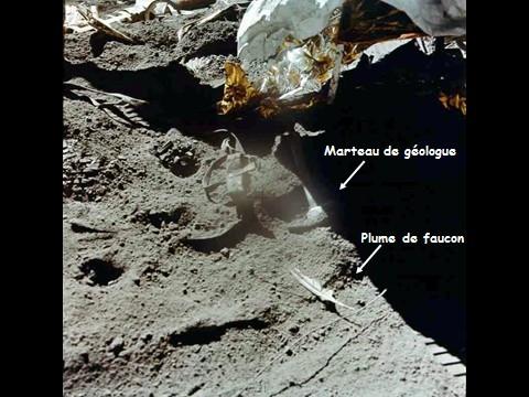 L'expérience de Galilée réalisée par Dave Scott sur la Lune