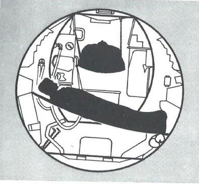 Pendant leur séjour lunaire les astronautes pouvaient se reposer dans des hamacs