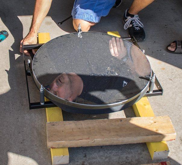 Nettoyage du miroir de notre t600 club d 39 astronomie de for Miroir pour telescope